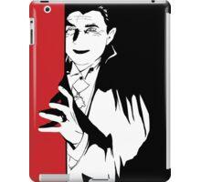 Dracula, classic horror pop art  iPad Case/Skin