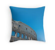 Rome Italy Colosseum (Colosseo) Throw Pillow