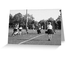 100511 058 0 pencil field hockey  Greeting Card