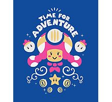 Time for Adventure Toadette Photographic Print