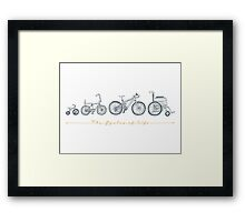 The Cycles of Life Framed Print