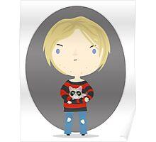 Cat Cobain Poster