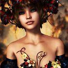 Autumn Beauty by Sandra Bauser Digital Art