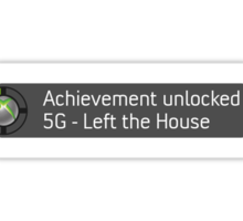 Xbox Achievement - Left the House Sticker