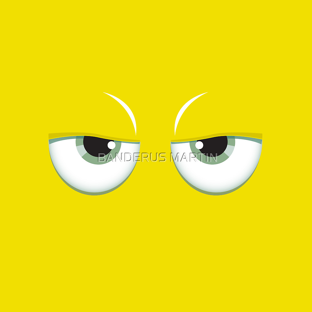 Yellow mirror by Honeyboy Martin