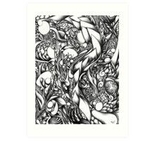 Doodle 1- Life Art Print