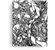 Doodle 1- Life Canvas Print