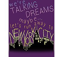Talking Dreams Photographic Print
