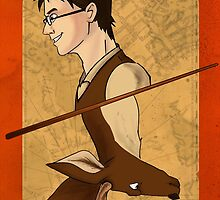 James Potter Playing Card by imaginativeink