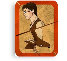 James Potter Playing Card Canvas Print