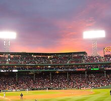 Boston Baseball Game by Hiebl Photography