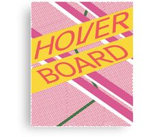 Hover Board Design Canvas Print