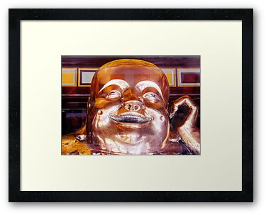Shiny, Happy Buddha © by Ethna Gillespie