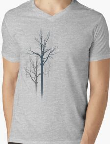 TREES2 Mens V-Neck T-Shirt