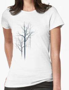 TREES2 Womens Fitted T-Shirt