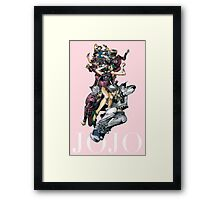 Joestar bloodline Framed Print
