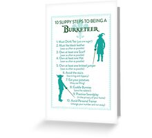 10 Slippy Steps ~ Burketeer Greeting Card