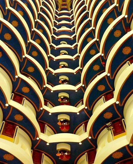 Inside Burj Al Arab By Supergold Redbubble