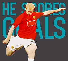 Paul Scholes - He Scores Goals by tookthat
