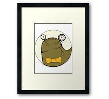 Clever Slug Framed Print