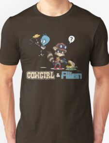 Cowgirl and Alien - Ooh Pretty Unisex T-Shirt