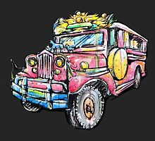 King of the Road! Philippine Jeepney by rtcifra