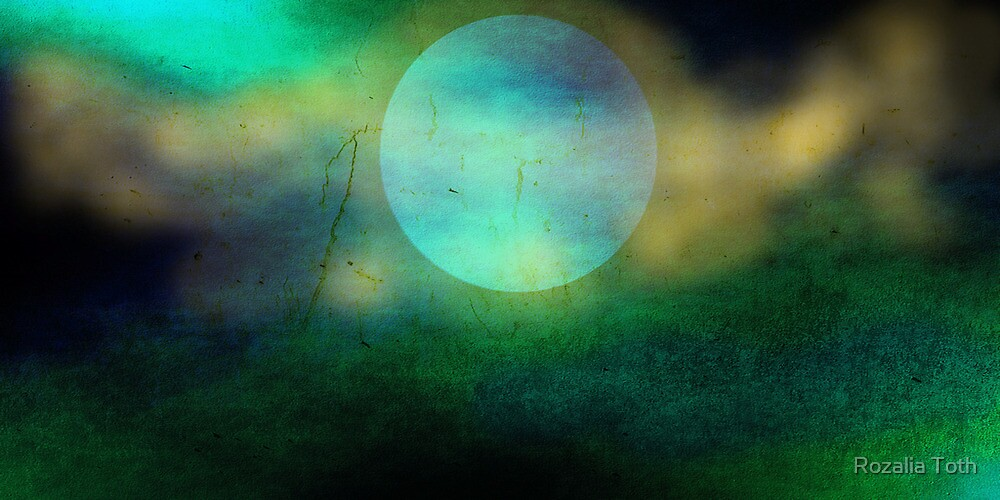 Green Flash by Rozalia Toth