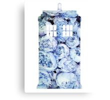 The Tardis -Doctor Who Canvas Print