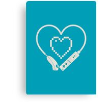 Wii Love Canvas Print