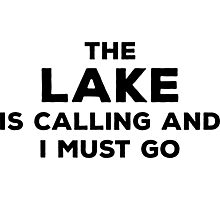 The Lake Is Calling Photographic Print