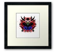 Cacodemon Rorschach Framed Print