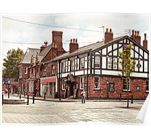 Ormskirk - The Queen's Head. Poster