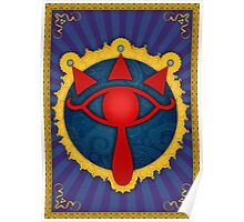 Arabesque Eye of Sheikah Poster
