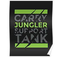 Jungler Only Poster