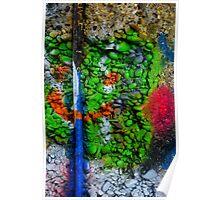 Abstract Graffiti Wall Art Photography - 3 Poster