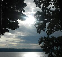 SUNSET ON CAYUGA LAKE by JoAnnHayden