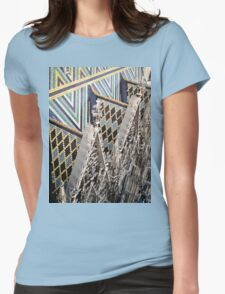 St. Stephan's Roof - Vienna, Austria Womens Fitted T-Shirt