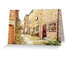 Church View Court - Ormskirk Greeting Card