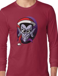 Christmas Dracula Long Sleeve T-Shirt