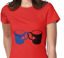 Mug Love Womens Fitted T-Shirt