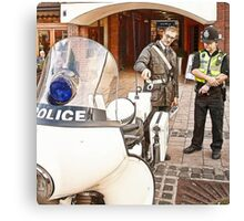 Police Old & New Canvas Print