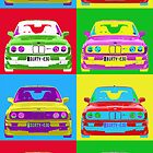 E30 M3 Warhol&#x27;d by Benjamin Whealing