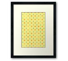 Old Navy Pattern Framed Print