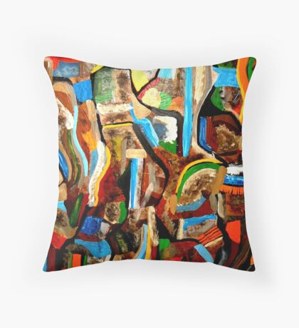 Outback Color Throw Pillow