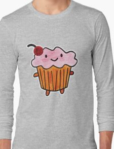 Happy Cupcake Long Sleeve T-Shirt