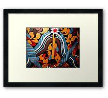 Outback Star Framed Print