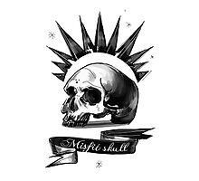 Misfit skull by ElesRB