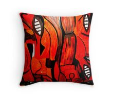 Outback Cliff Throw Pillow