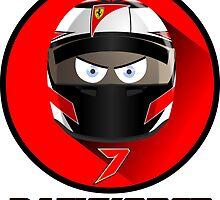 Kimi RAIKKONEN_2015_Helmet #7 by Cirebox