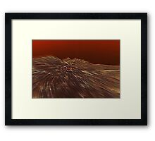 Seeing Sanguine Framed Print